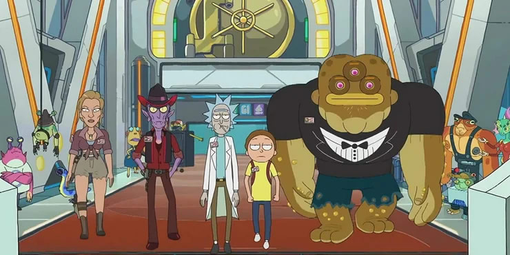Rick & Morty: How It Evolved From A Back To The Future Riff