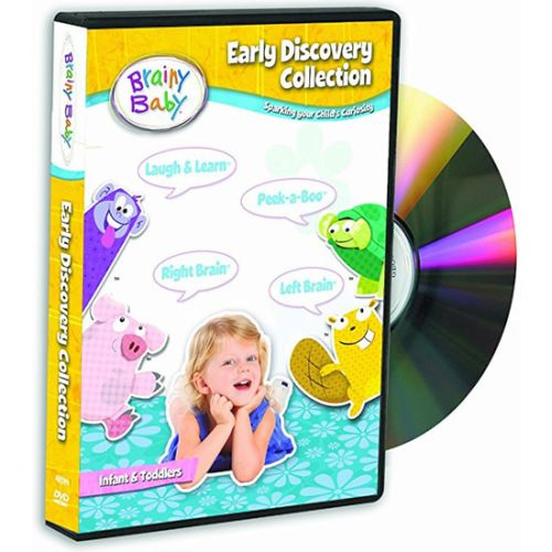 Brainy Baby Early Learning Collection Kids Movie (DVD AU)