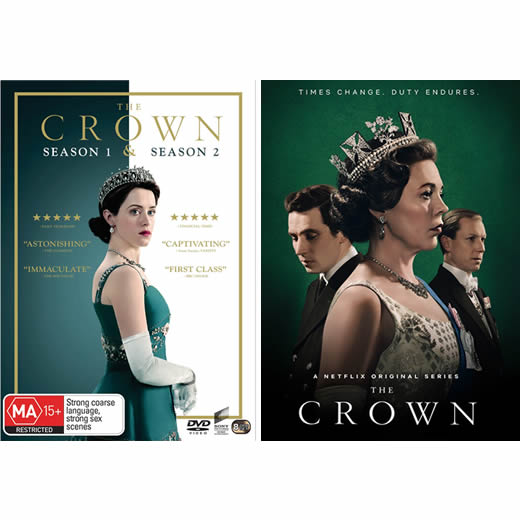 Buy The Crown Complete Series 1 3 Dvd Australia Dvd Online Shop