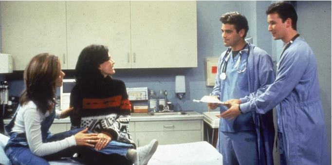 No, Friends Did NOT Have An ER Crossover With George Clooney