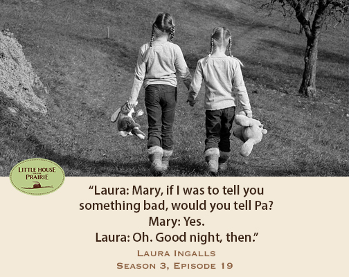 Quotes From The Little House On The Prairie