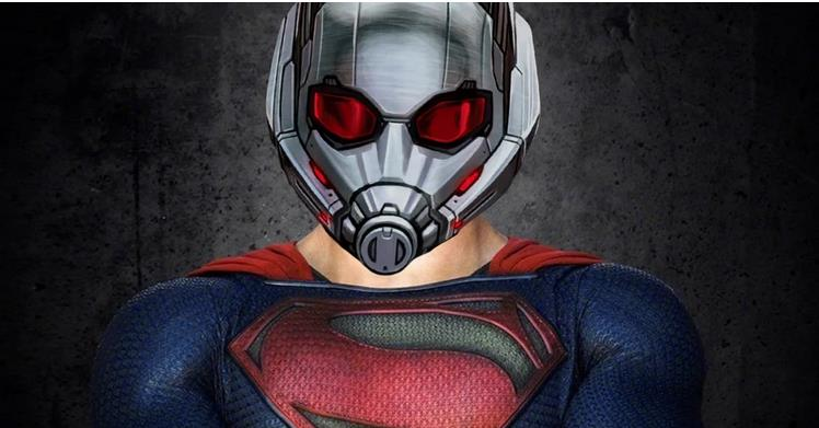 Superman is Technically DC's Version of ANT-MAN