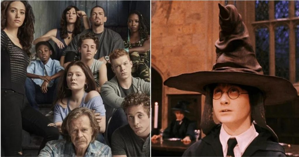 Shameless: The Main Characters Sorted Into Their Hogwarts Houses