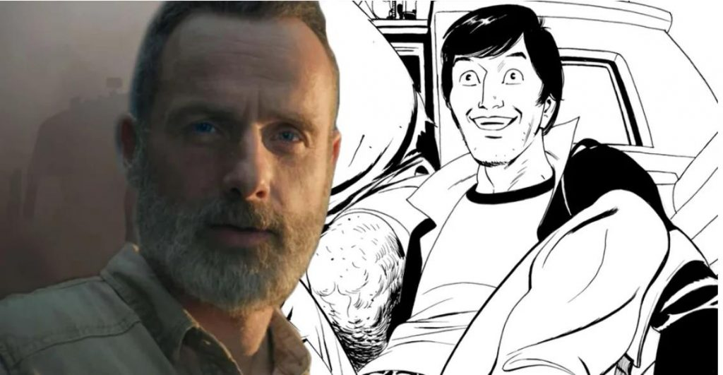 Walking Dead: The Story of Rick's Brother Coming in ALIEN Hardcover