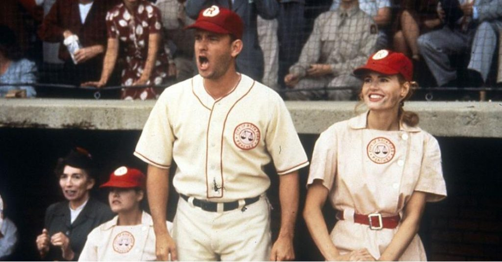 Tom Hanks' A League of Their Own Baseball Uniform Is Up For Auction
