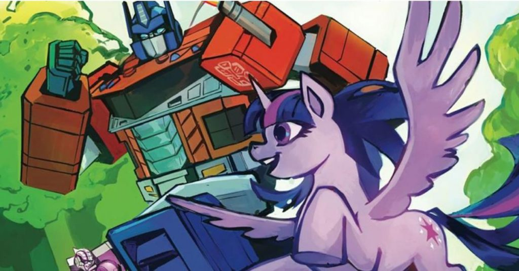 Transformers & My Little Pony Are Teaming Up In New Series