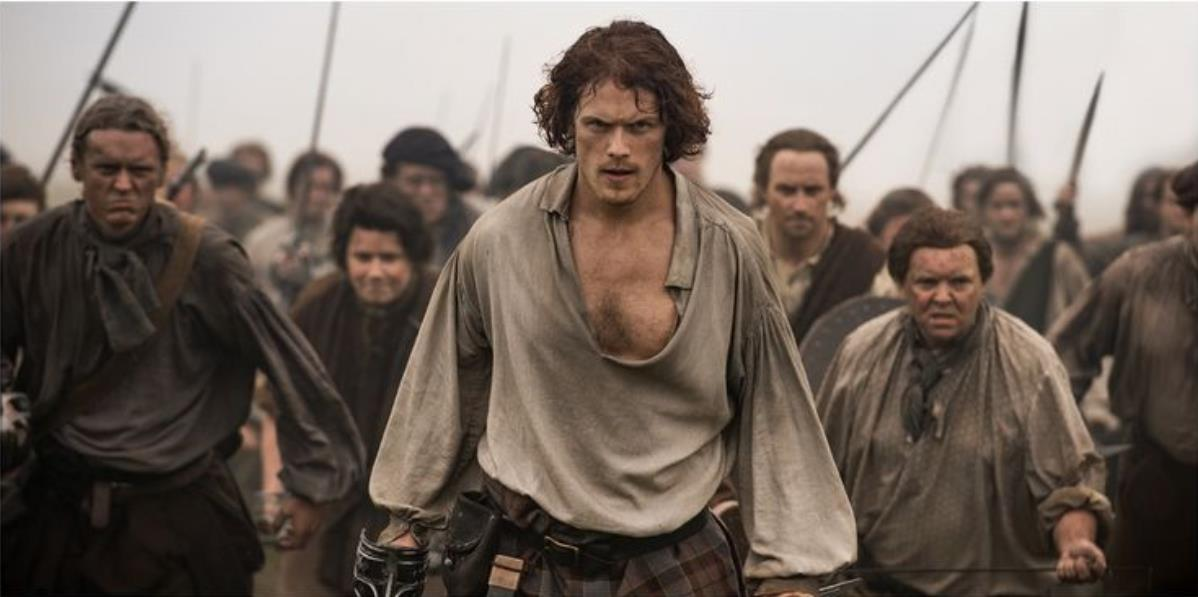 Sam Heughan's Top 10 Quotes About Working On Outlander