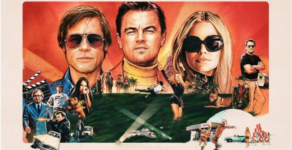 10 Hidden Details In The Once Upon A Time In Hollywood Poster That Fans Missed