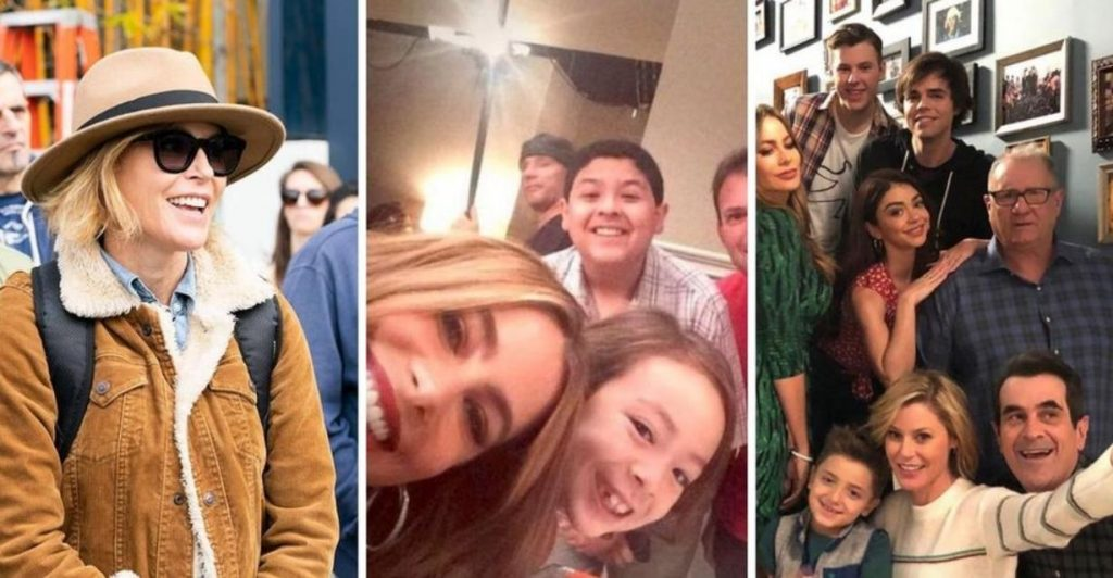 Modern Family: 10 BTS Photos Fans Haven't Seen Before