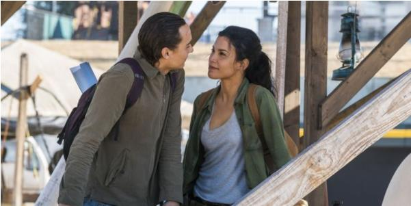 Fear the Walking Dead's Danay Garcia Doesn't Expect Her Character to Find Love Again