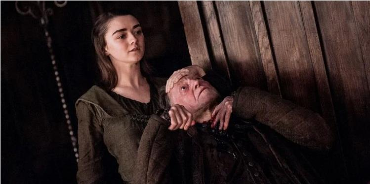 Maisie Williams New Role Copies Her Arya Kill List Story In Game Of Thrones
